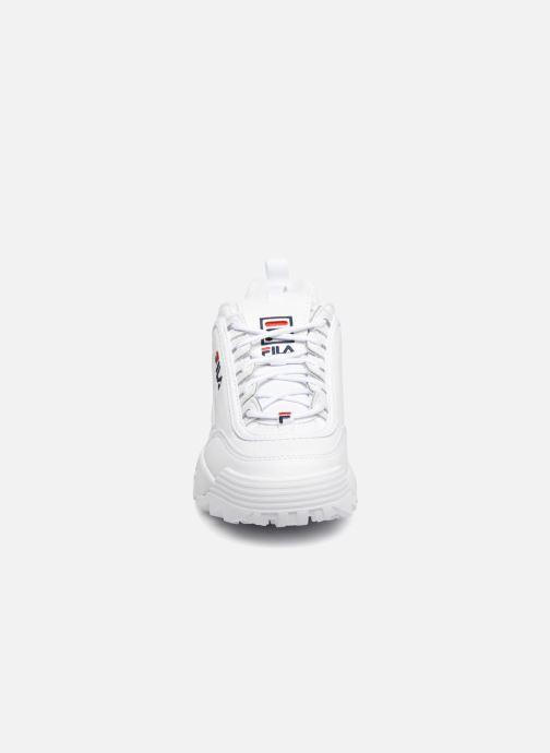 Baskets FILA Disruptor Low W Blanc vue portées chaussures