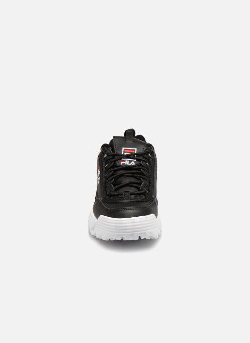 Sneaker FILA Disruptor Low W schwarz schuhe getragen