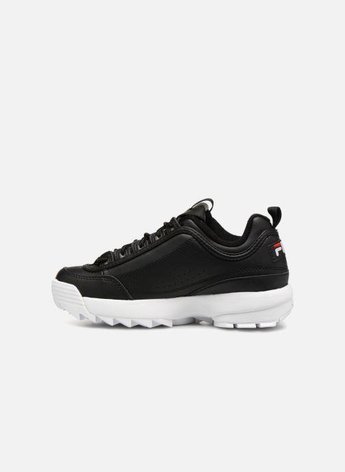 Sneaker FILA Disruptor Low W schwarz ansicht von vorne