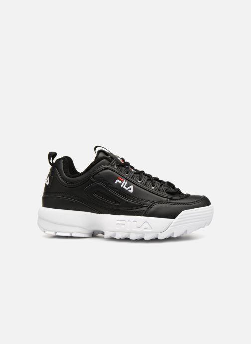 Sneaker FILA Disruptor Low W schwarz ansicht von hinten