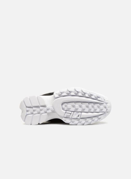 Sneaker FILA Disruptor Low W schwarz ansicht von oben