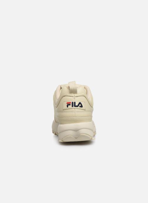 Baskets FILA Disruptor Low W Beige vue droite