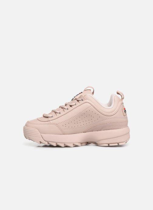 Sneakers FILA Disruptor Low W Roze voorkant