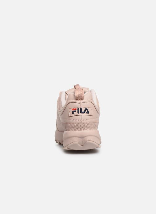 Baskets FILA Disruptor Low W Rose vue droite