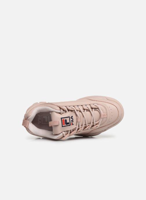 Sneaker FILA Disruptor Low W rosa ansicht von links