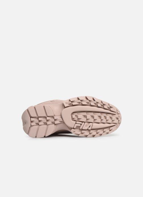 Sneaker FILA Disruptor Low W rosa ansicht von oben