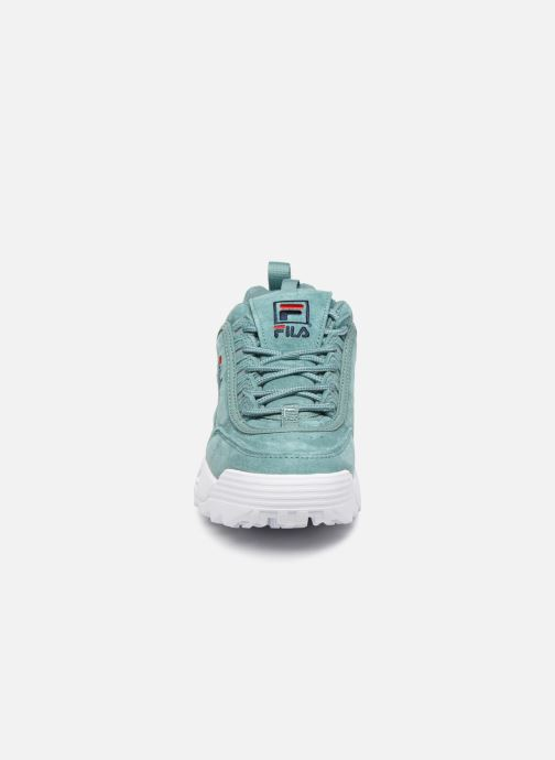 Baskets FILA Disruptor Low W Vert vue portées chaussures