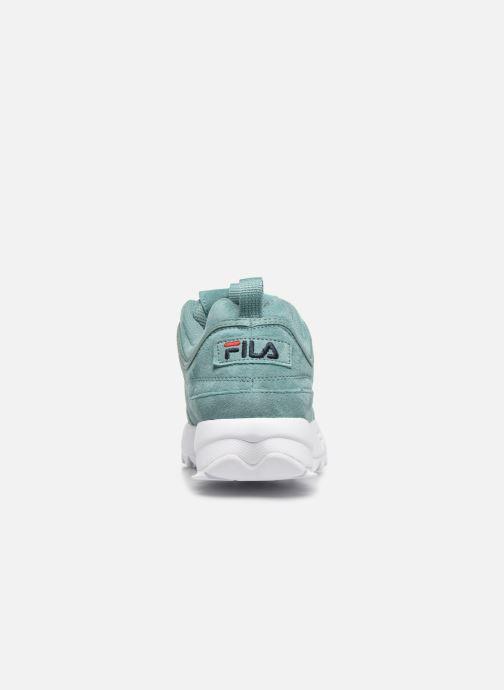 Baskets FILA Disruptor Low W Vert vue droite