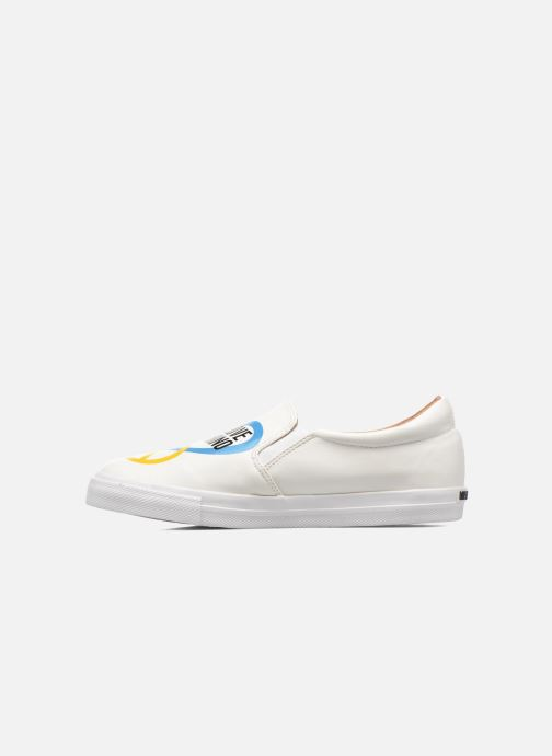 Baskets Love Moschino Cut Out Slip-On Blanc vue face