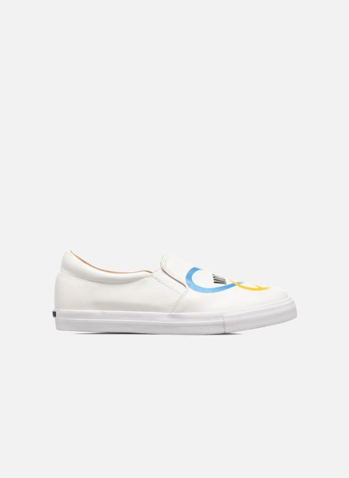 Baskets Love Moschino Cut Out Slip-On Blanc vue derrière