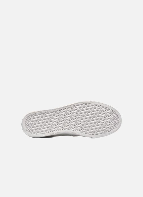 Baskets Love Moschino Cut Out Slip-On Blanc vue haut