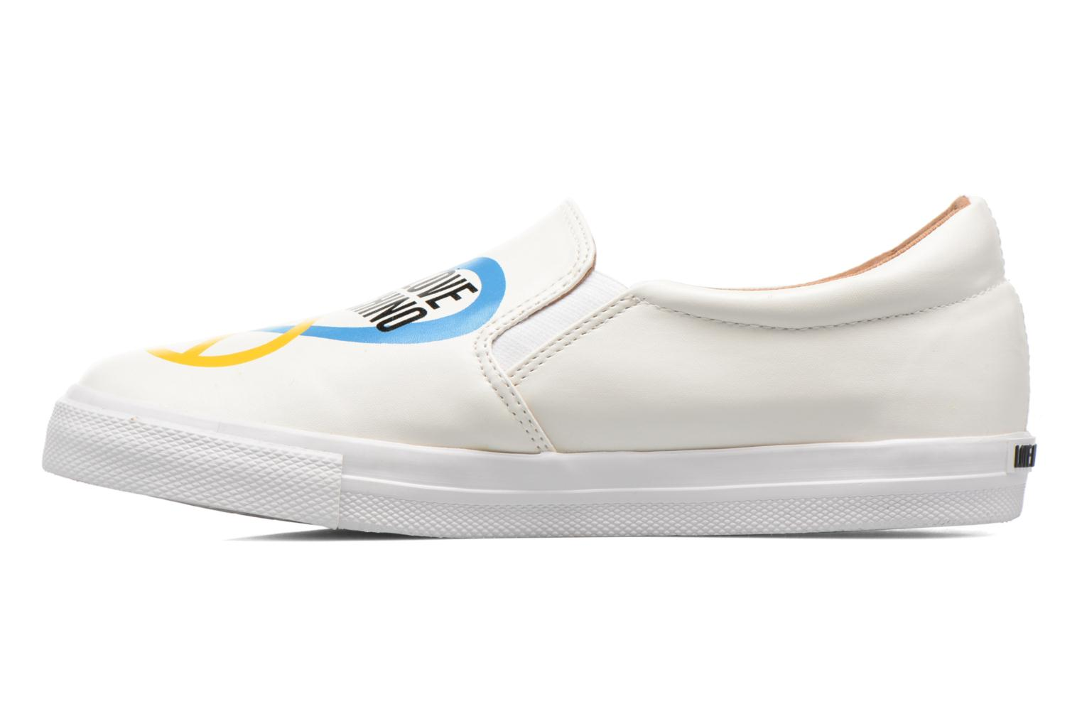 Trainers Love Moschino Cut Out Slip-On White front view