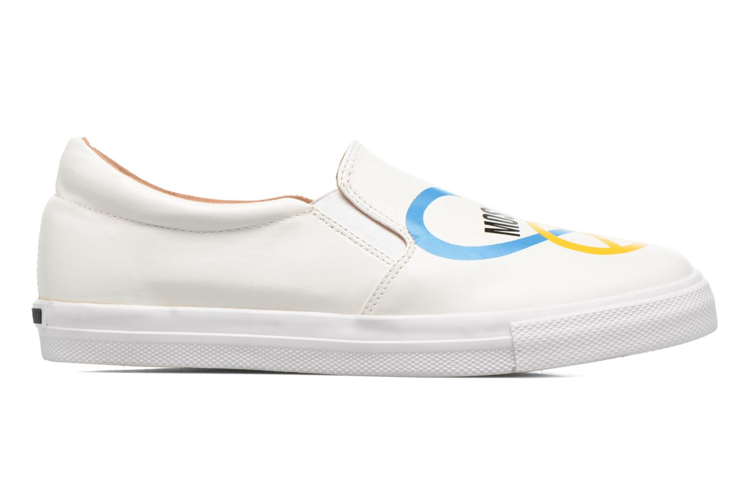 Trainers Love Moschino Cut Out Slip-On White back view