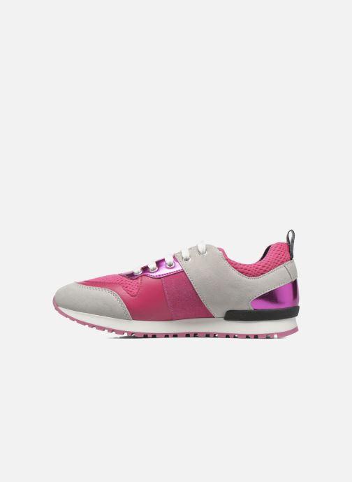 Deportivas Love Moschino Sneaker Mania2 Rosa vista de frente