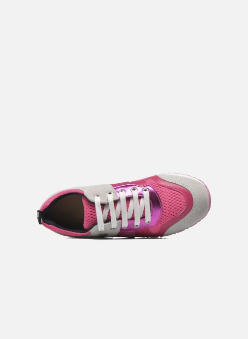 Deportivas Love Moschino Sneaker Mania2 Rosa vista lateral izquierda