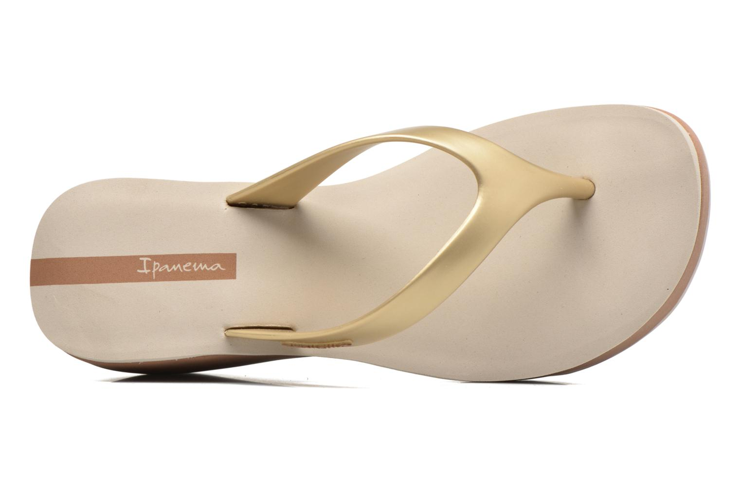 Flip flops Ipanema Lipstick Thong V Beige view from the left