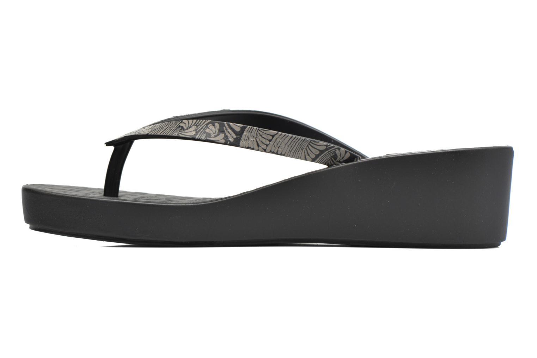 Flip flops Ipanema Art Deco III Black front view