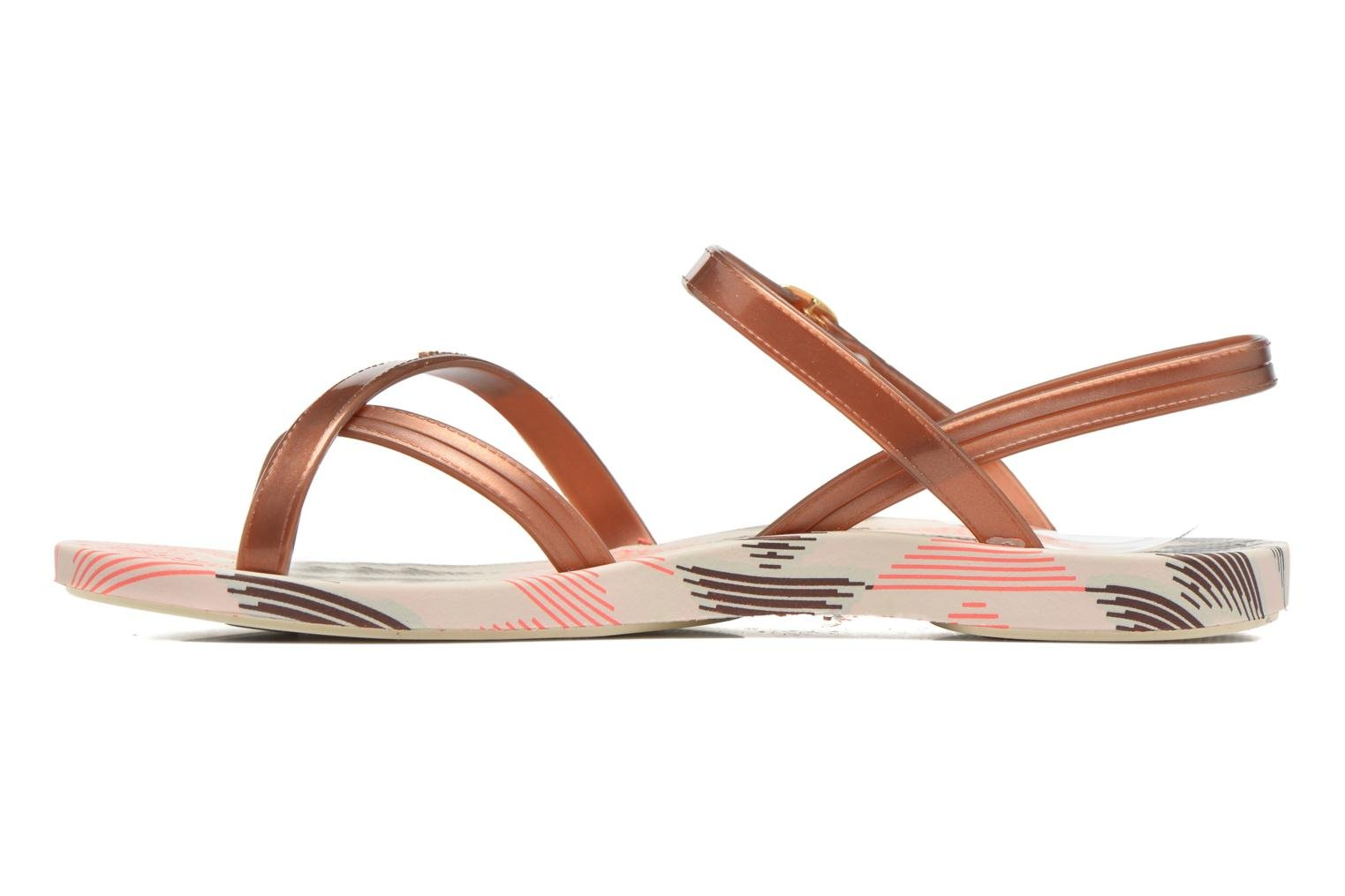 Sandals Ipanema Fashion Sandal IV F Brown front view