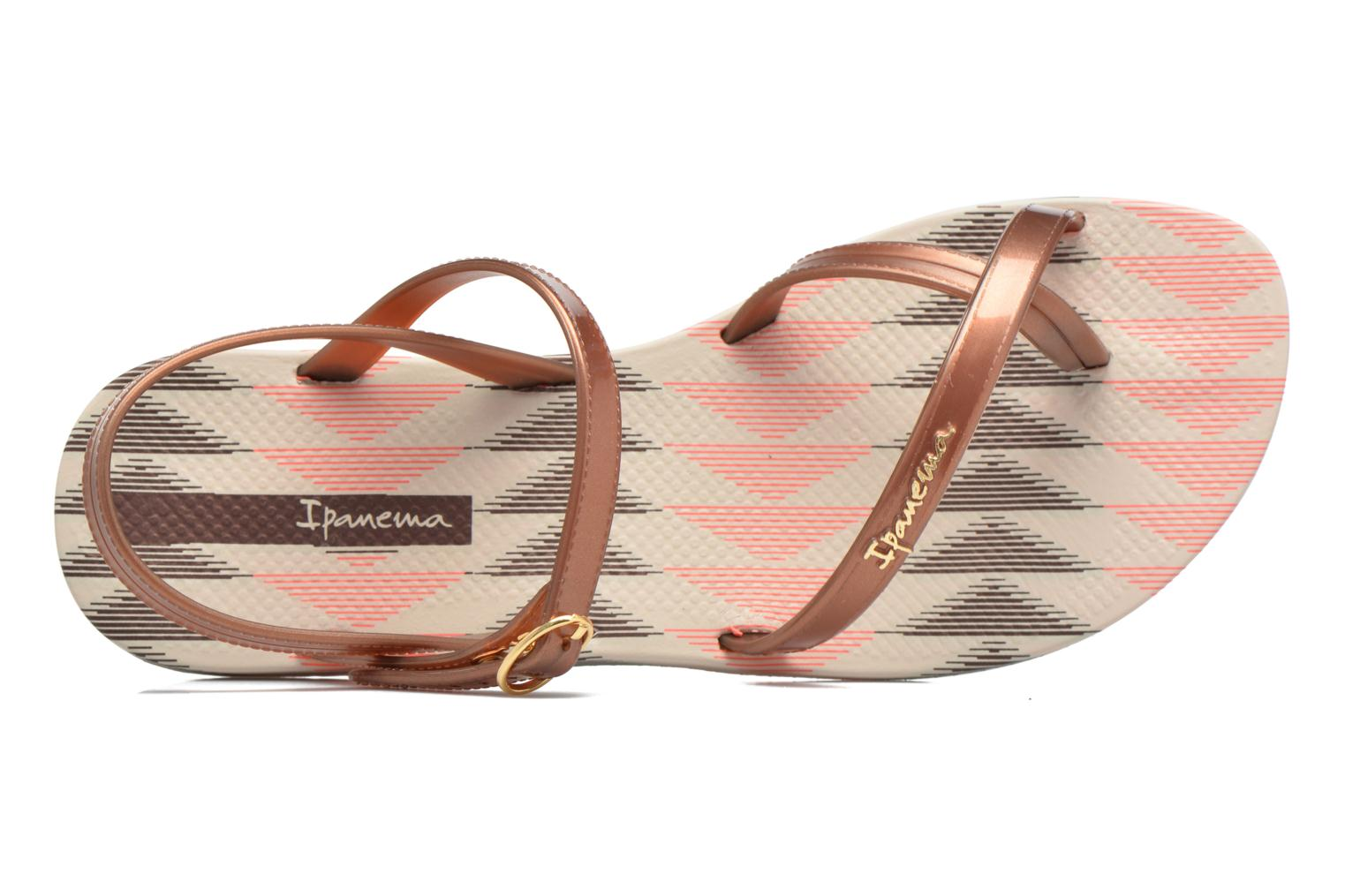 Sandals Ipanema Fashion Sandal IV F Brown view from the left