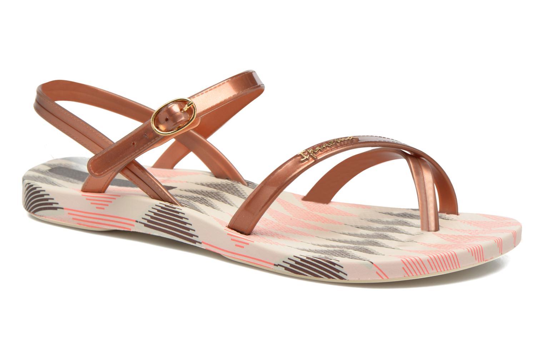 Sandals Ipanema Fashion Sandal IV F Brown detailed view/ Pair view
