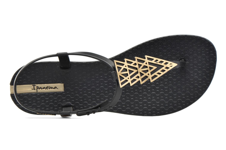 Tongs Ipanema Charm IV Sandal Noir vue gauche