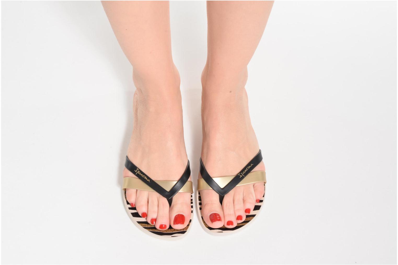 Flip flops Ipanema Kirei Silk II Pink view from underneath / model view