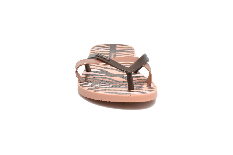 Flip flops Ipanema Kirei Silk II Pink model view