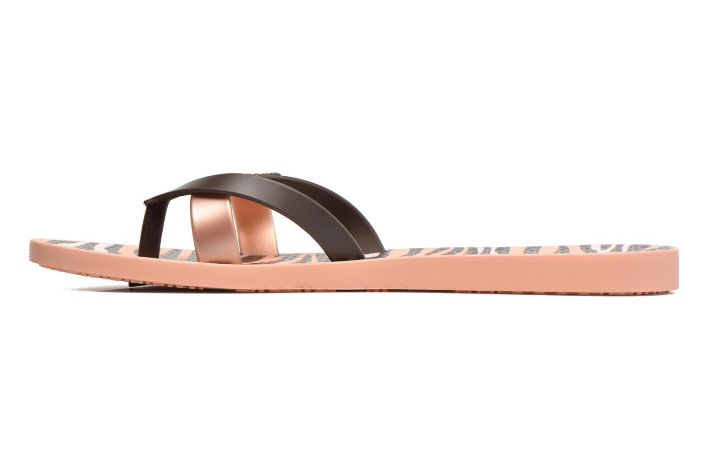 Flip flops Ipanema Kirei Silk II Pink front view