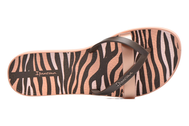 Flip flops Ipanema Kirei Silk II Pink view from the left