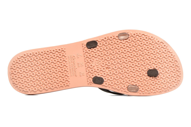 Flip flops Ipanema Kirei Silk II Pink view from above