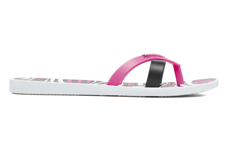 Flip flops Ipanema Kirei Silk II White back view