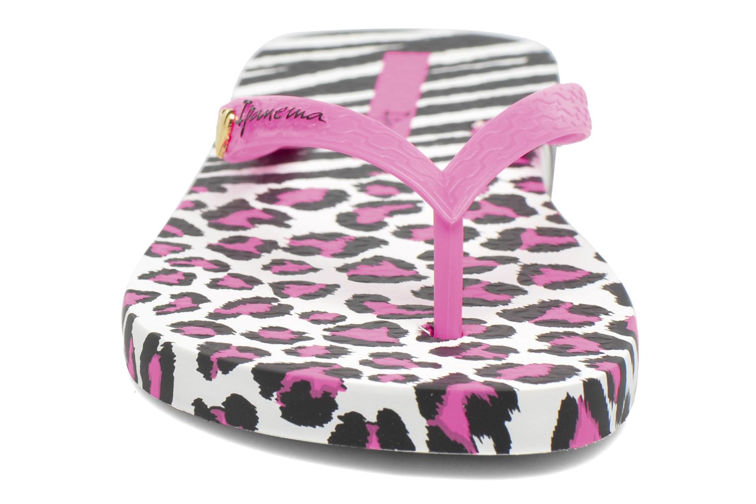 Flip flops Ipanema Animal Print II White model view