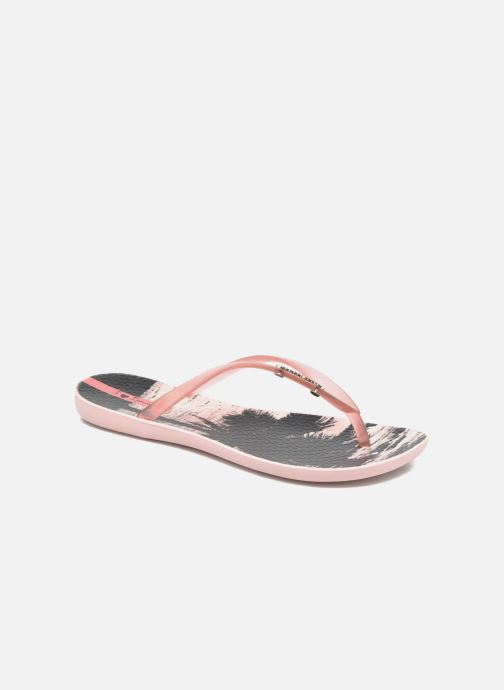 Tongs Ipanema Wave Tropical Rose vue détail/paire