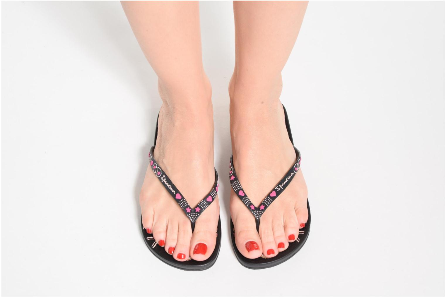 Flip flops Ipanema Anatomic Lovely VII Blue view from underneath / model view