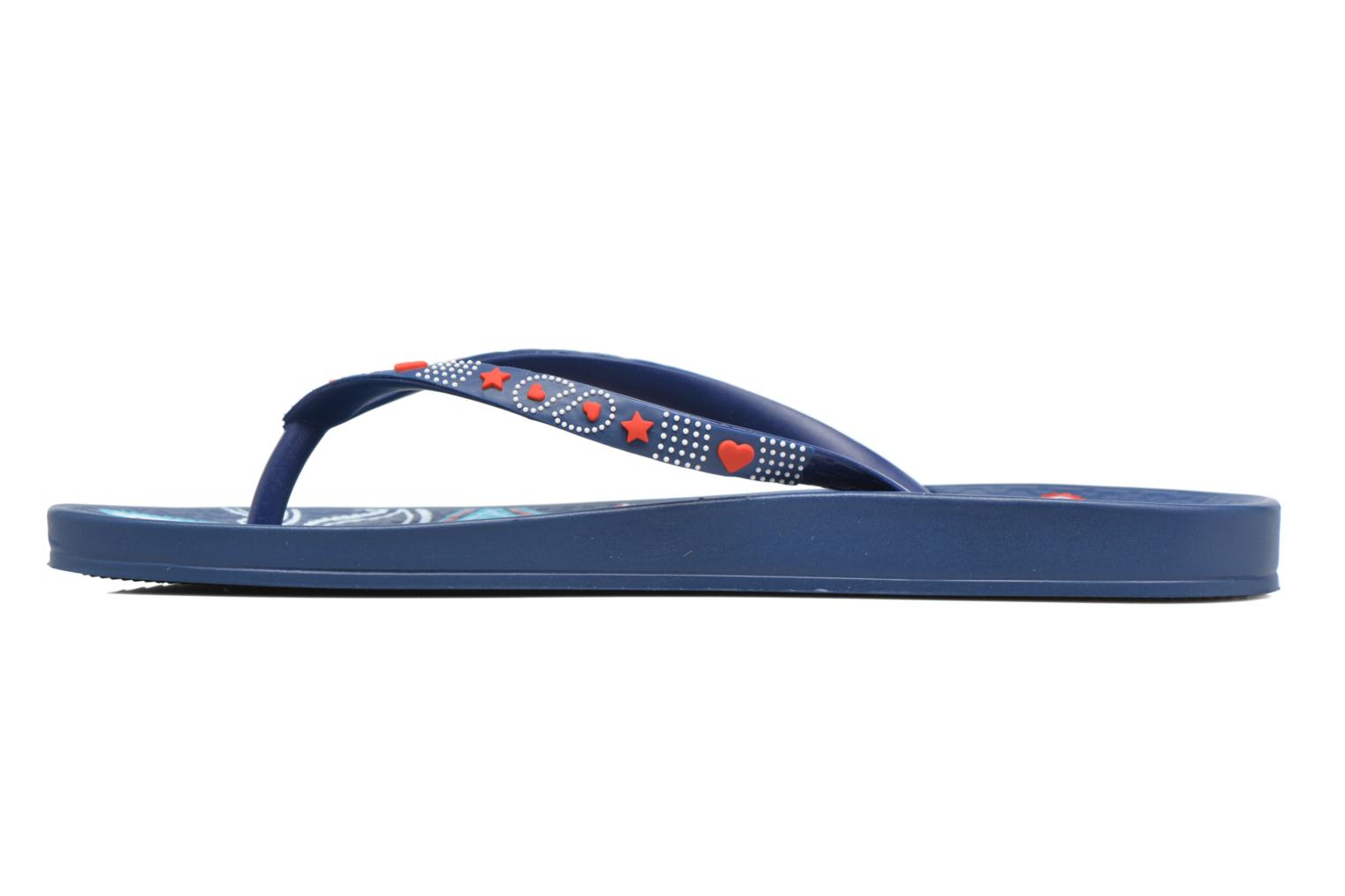Flip flops Ipanema Anatomic Lovely VII Blue front view