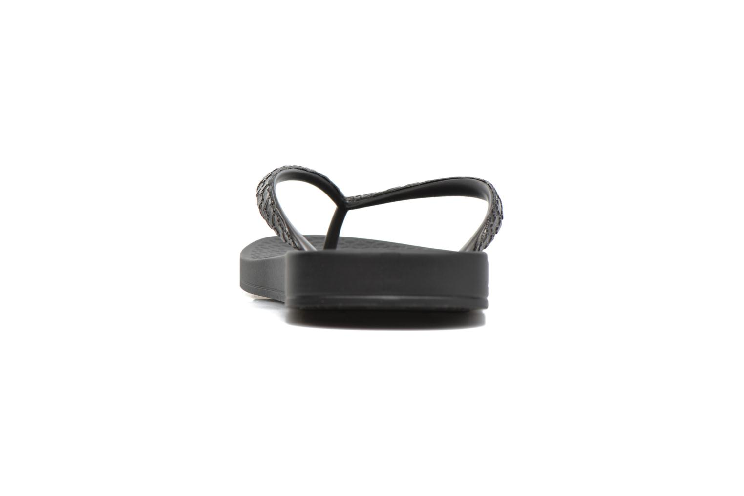 Flip flops Ipanema Mesh II Black view from the right