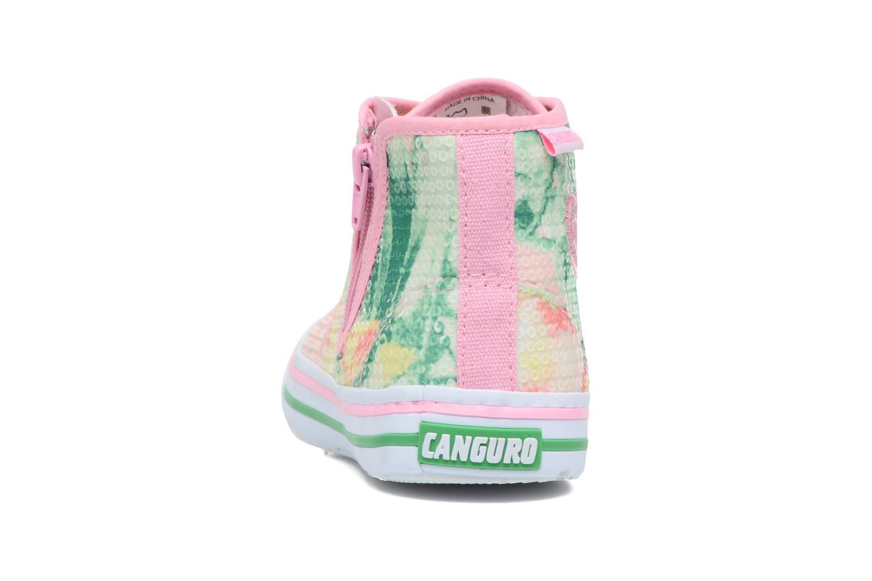 Baskets Canguro Paula Shoes Multicolore vue droite