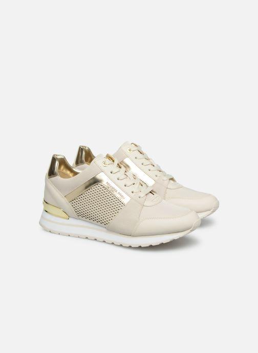 Sneakers Michael Michael Kors Billie Trainer Beige 3/4 billede