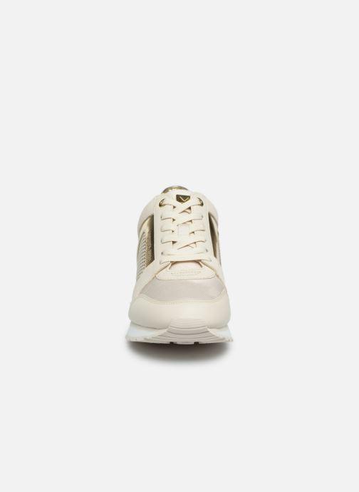 Sneaker Michael Michael Kors Billie Trainer beige schuhe getragen