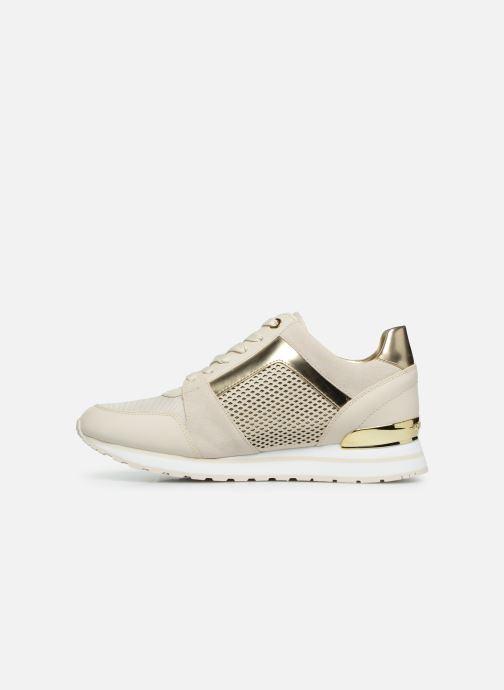 Sneakers Michael Michael Kors Billie Trainer Beige voorkant