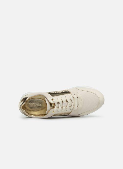 Sneaker Michael Michael Kors Billie Trainer beige ansicht von links