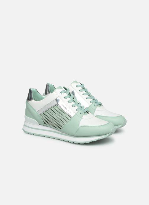 Sneakers Michael Michael Kors Billie Trainer Verde immagine 3/4
