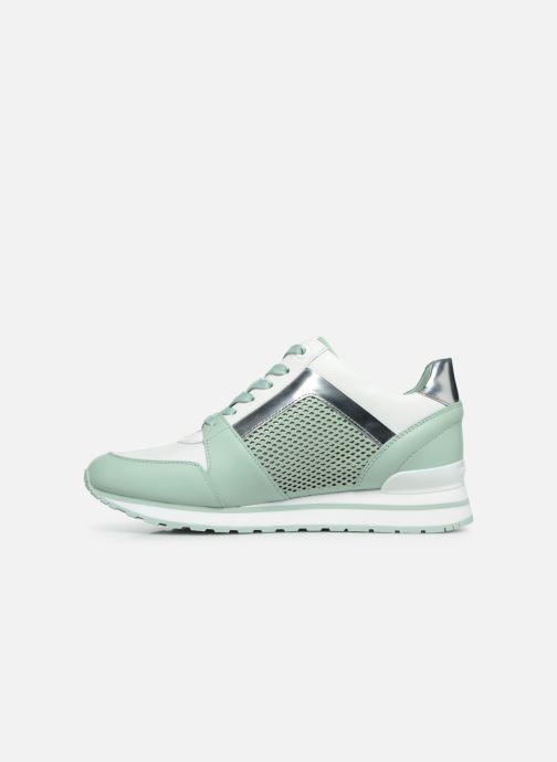 Sneakers Michael Michael Kors Billie Trainer Verde immagine frontale