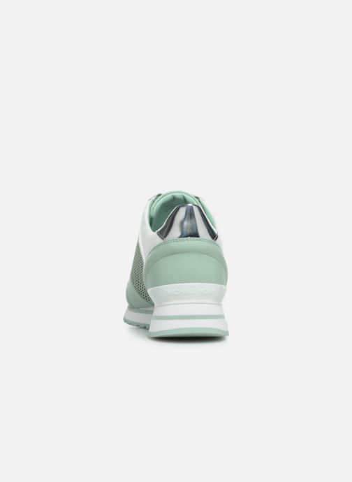 Sneakers Michael Michael Kors Billie Trainer Verde immagine destra