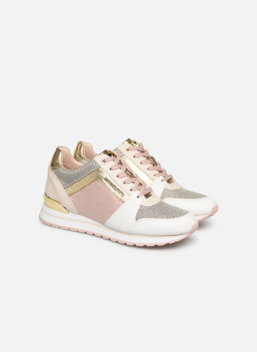 Sneakers Michael Michael Kors Billie Trainer Roze 3/4'