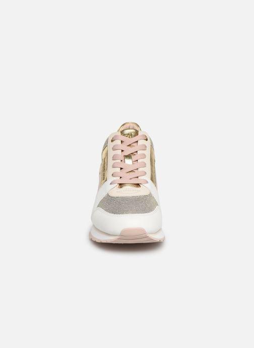 Baskets Michael Michael Kors Billie Trainer Rose vue portées chaussures