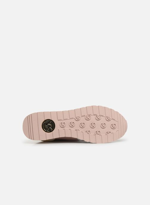 Sneakers Michael Michael Kors Billie Trainer Roze boven