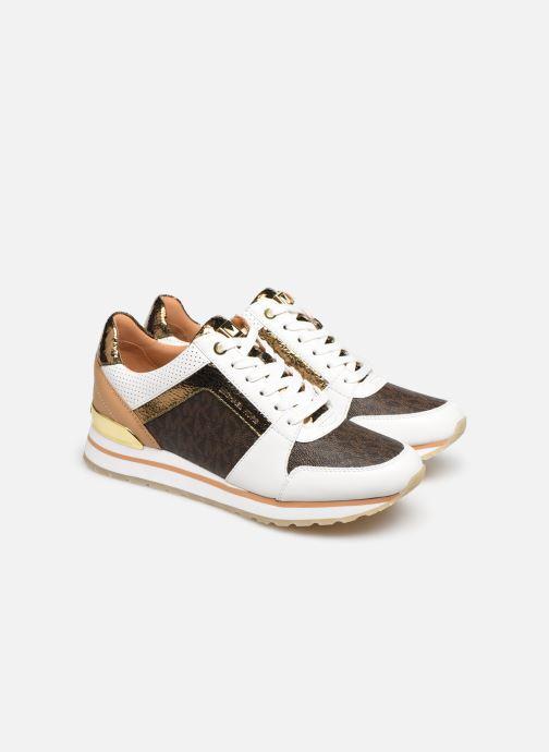 Sneakers Michael Michael Kors Billie Trainer Hvid 3/4 billede