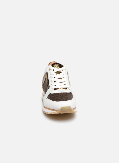 Baskets Michael Michael Kors Billie Trainer Blanc vue portées chaussures