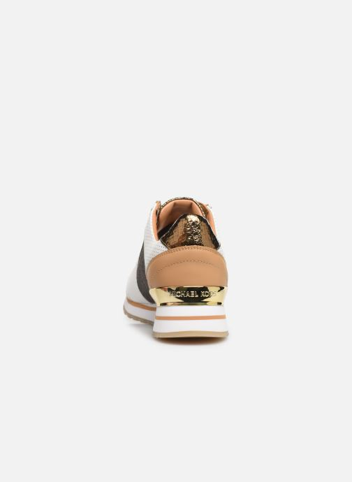 Sneaker Michael Michael Kors Billie Trainer weiß ansicht von rechts
